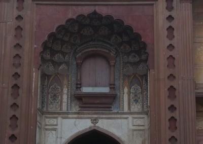 Szafdardzsang síremlékének bejárata