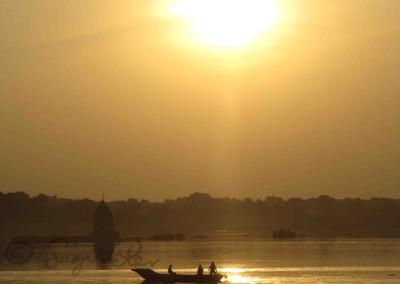 A Narmadá folyó Mahésvarnál