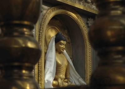 A megvilágosodás helyén, Bódhgajá