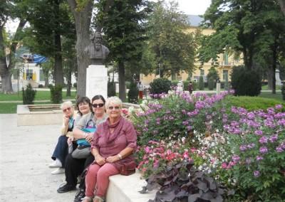 Tagore emlékhely megtekintése, Balatonfüred 2013
