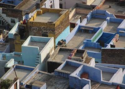 Háztetők Rádzsaszthánban