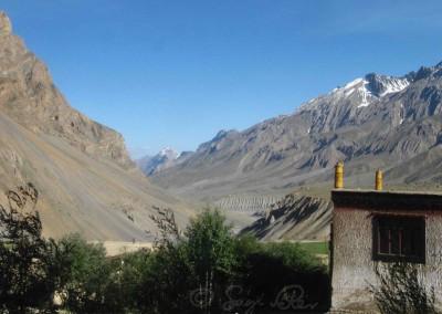 Tibeti táj, Szpíti-völgy