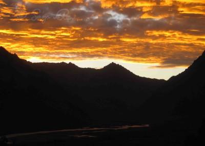 Zangla és a Zanszkár folyó, Laddákh