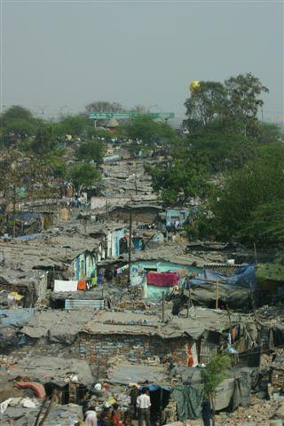 Látvány Delhiből